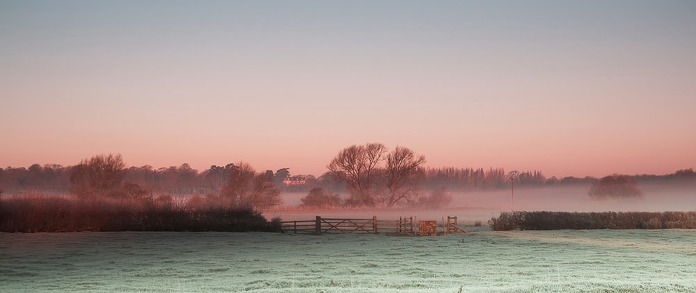 Sunrise over Ouse Valley