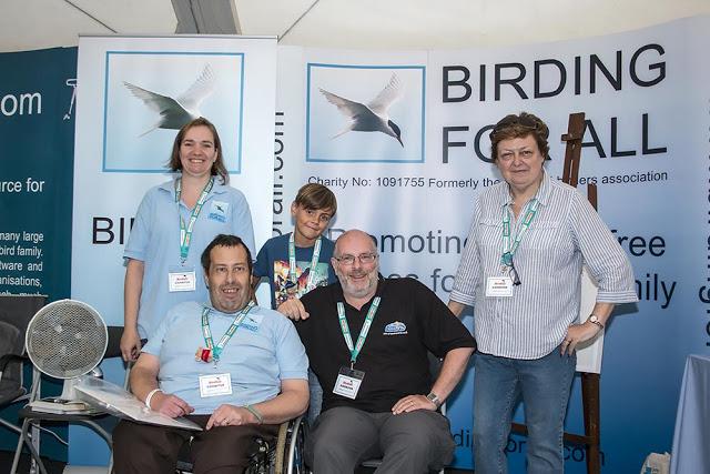 BFA Team with Neil Glenn (Left to Right Zoe, Phil, Toby, Neil & Ann)