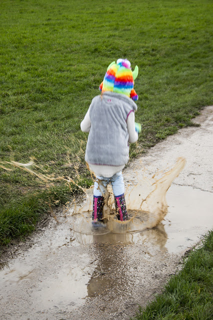 A Little Puddle Splashing