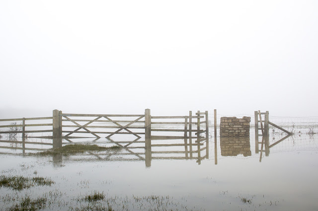 Flooded Gate - part of the sheep fields