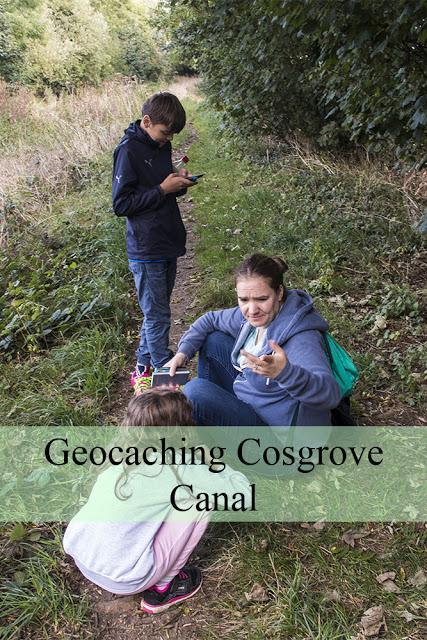 Geocaching Cosgrove Canal