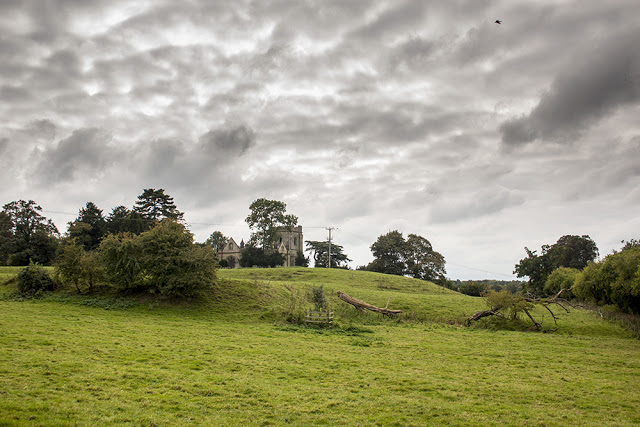The Old Church from down hill