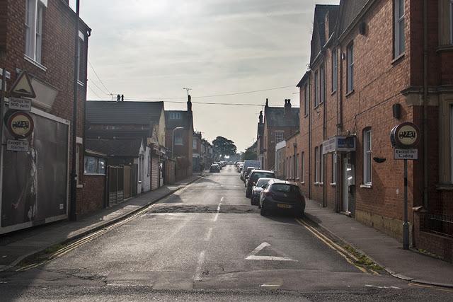 View up Cambridge Street