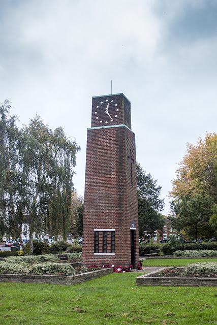 New Bradwell Clock Tower War Memorial