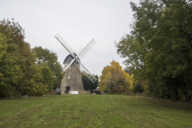 Windmill at New Bradwell