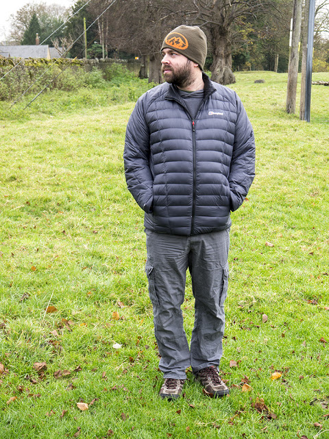 Me in my new Berghaus Torridon Reversible Jacket (not the most flattering pic!)
