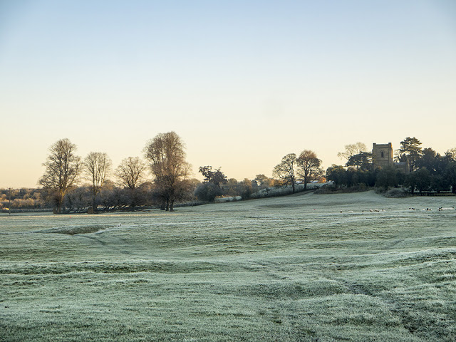 Embracing The Frost - Frost fields of Wolverton Mill