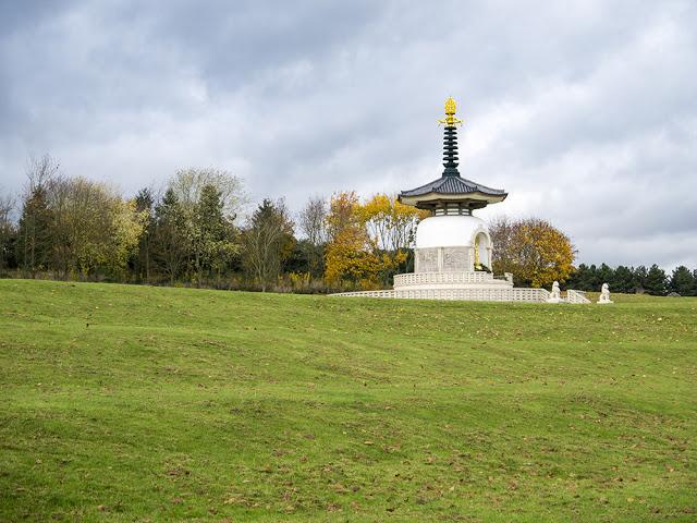 Peace Pagoda Willen Lake