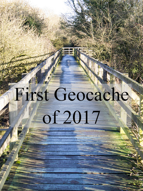 First Geocaching of 2017.