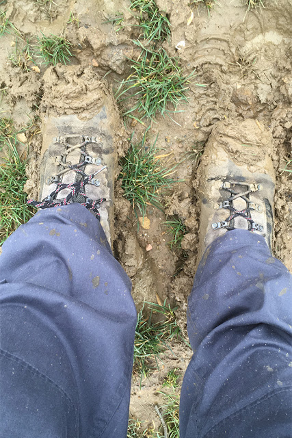 2nd Muddy Boots Pic of the Day