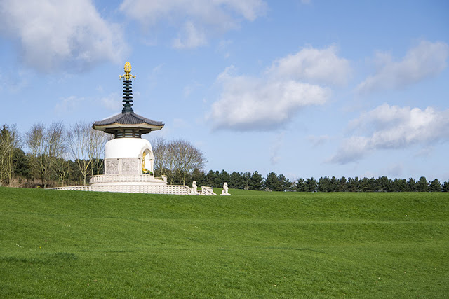 Peace Pagoda at Willen Lake
