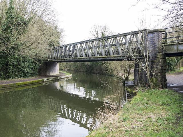 Railway walk bridge