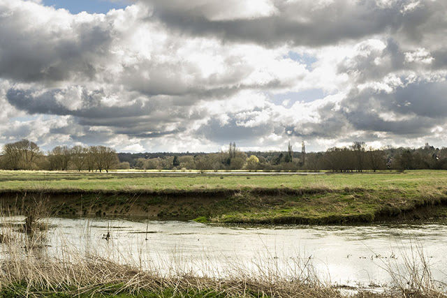 Bradwell Lake over the Ouse