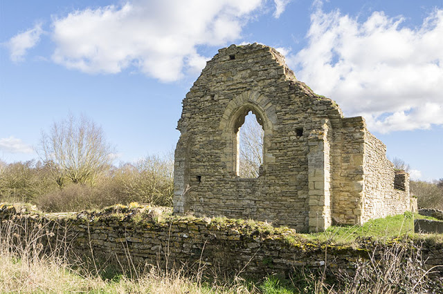 St Peters Church ruins