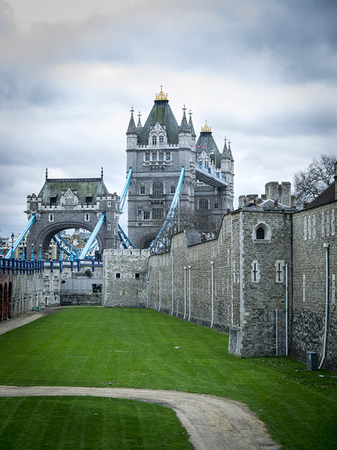 Tower Bridge and the Tower of London