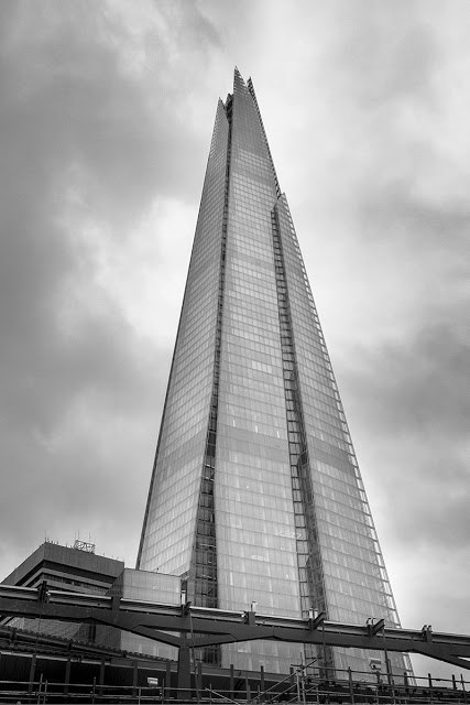 The Shard in Black and White