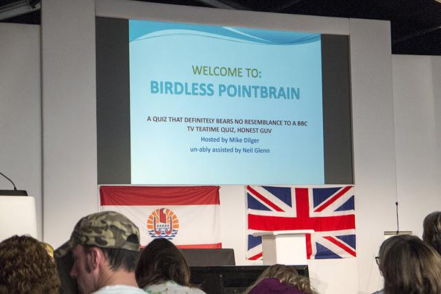 Birdless Pointbrain Live at Birdfair 2017 Weekend