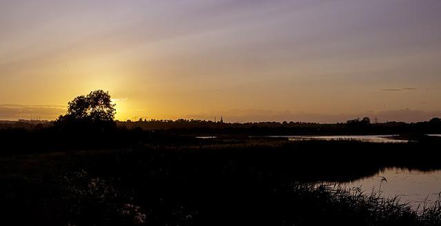 Sun Setting towards Oakham