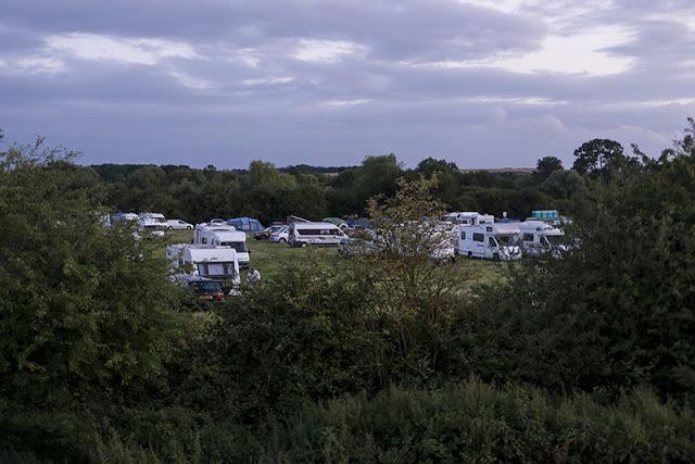 Camping at Birdfair
