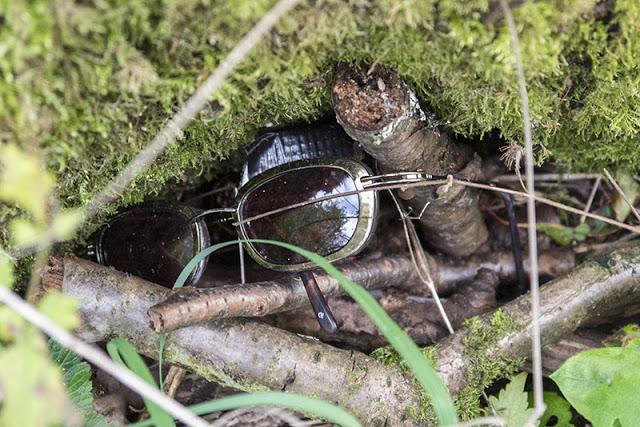 Glasses at Geocache