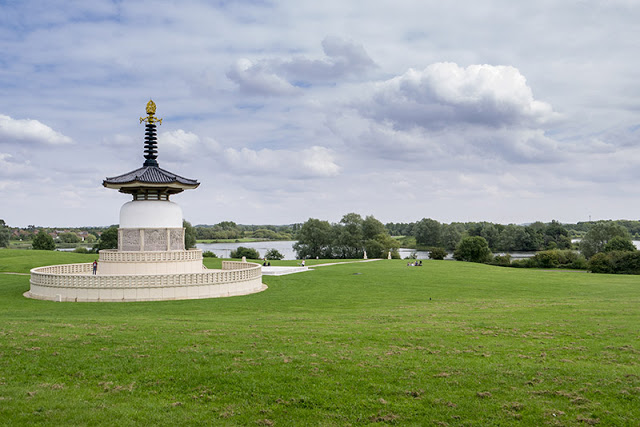 Peace Pagoda at Willen Lake
