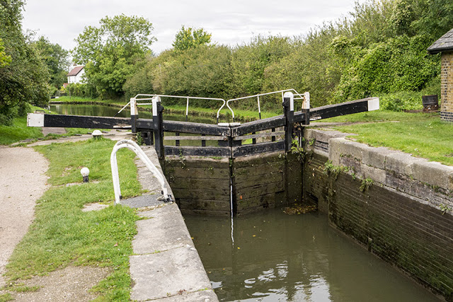 One of many Lock on my Tring to Milton Keynes Canal Walk