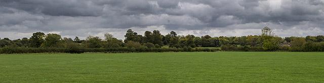 Wolverton Mill Fields Panorama