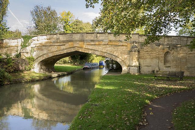 Picturesque bridge, just beyond Cosgrove